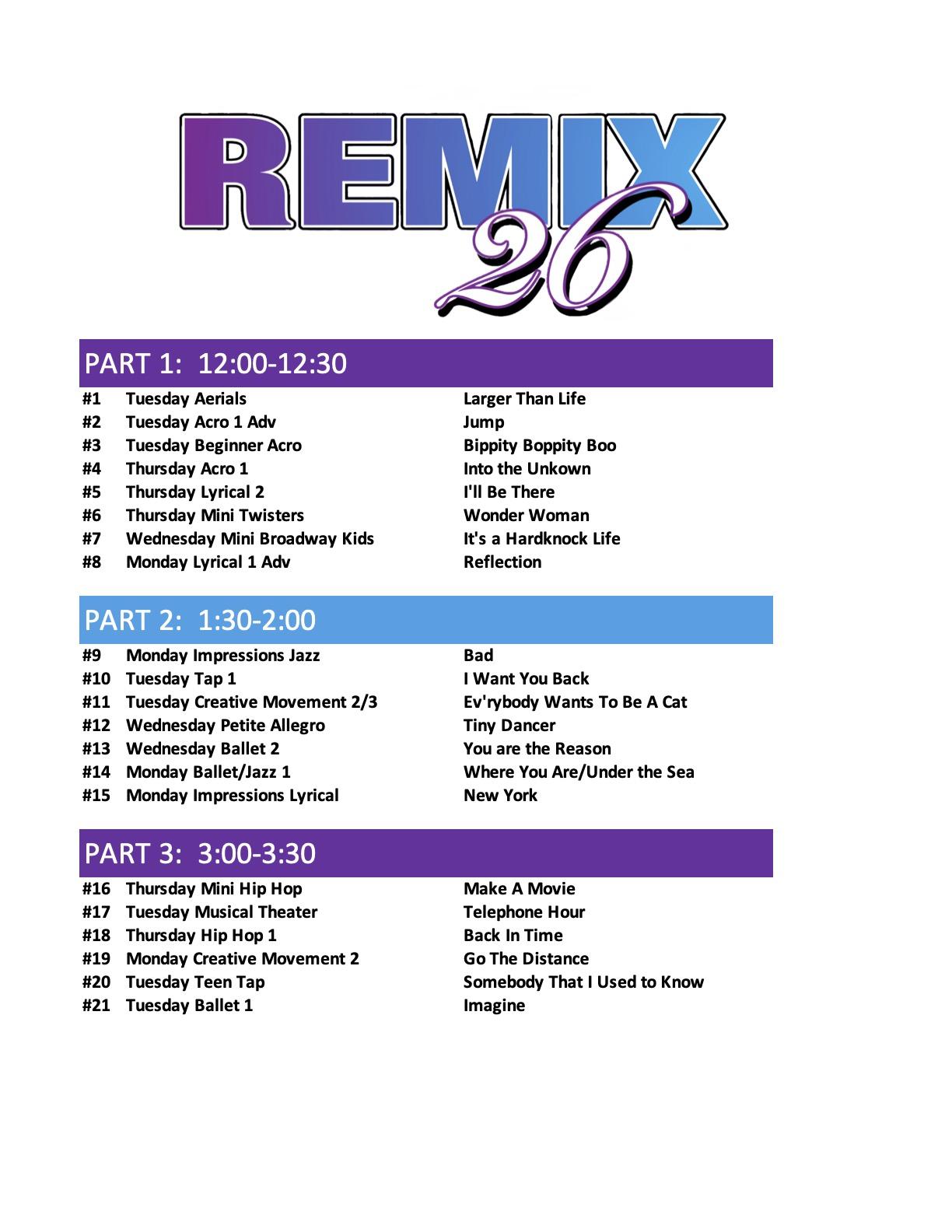 Recital Line Up 2021 REMIX 26 5-6-2021 NEW copy